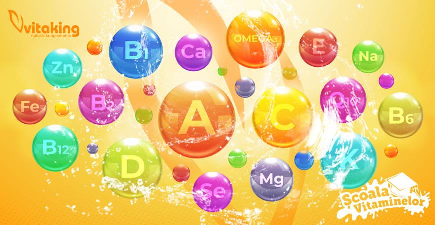 Rolul vitaminelor – Cum ne ajută diferitele vitamine?